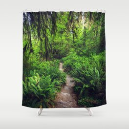 Rainforest Trail Shower Curtain