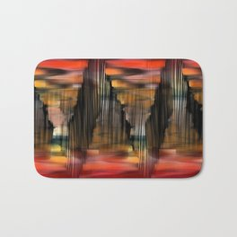 Surreal City Abstract Bath Mat