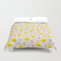 easter Duvet Covers featuring Easter pattern by eDrawings38
