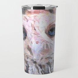 Marble Owl Travel Mug