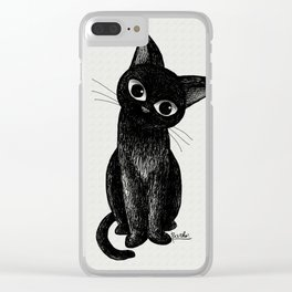 Lovely one Clear iPhone Case