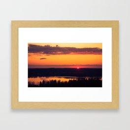 Fissio Ver2 Framed Art Print