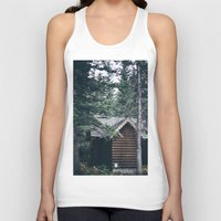 cabin Tank Tops featuring Cabin by Garrett Lockhart
