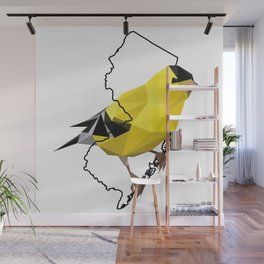 New Jersey – American Goldfinch Wall Mural