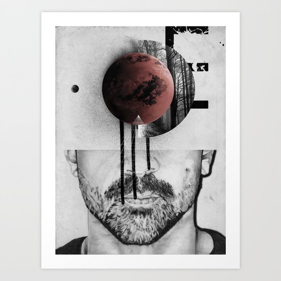 Occupy Your Mind Art Print