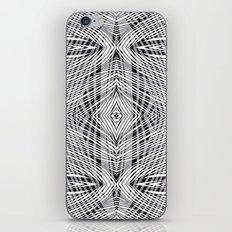 stripe power iPhone & iPod Skin