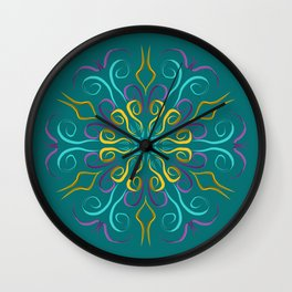 Stronger (Turquesa) Wall Clock