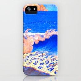 Georges Lacombe - Marine bleue, Effet de vague  - Les Nabis Painting iPhone Case