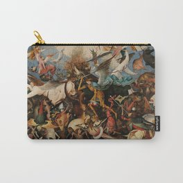 Pieter Bruegel the Elder The Fall of the Rebel Angels Carry-All Pouch