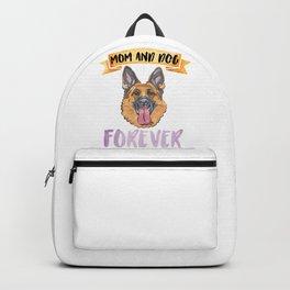 Shepherd Mom Forever Backpack