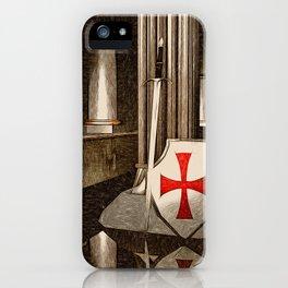 The Lost Templar iPhone Case