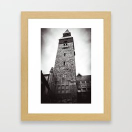 Finnish Musuem Tower Framed Art Print