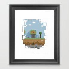 A world of dreams Framed Art Print