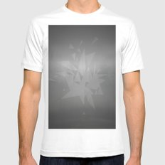 Trixplosion White MEDIUM Mens Fitted Tee