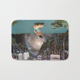 The Mind on Tormented Tides Bath Mat