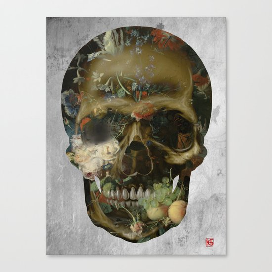 Skull No.2 Canvas Print