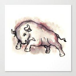 Bull Blood Canvas Print