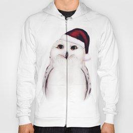 Snowy Christmas Owl  Hoody