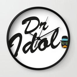 Dr. Idol. Original Character  Wall Clock