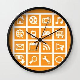 All Things Digital Wall Clock