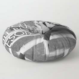 Be Good, Be Lonesome Floor Pillow