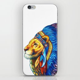 The Lion Chief iPhone Skin