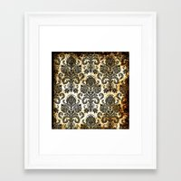 victorian Framed Art Prints featuring Victorian  by Tania Joy