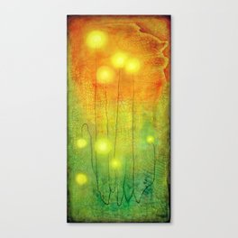 Glowing Lights Canvas Print