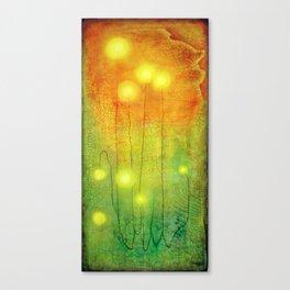 Glowing Lights Canvas Print