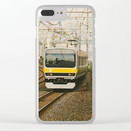 Sobu Line Local Clear iPhone Case