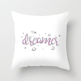 Dreamer Doodle Throw Pillow