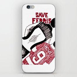 Save Ferris iPhone Skin
