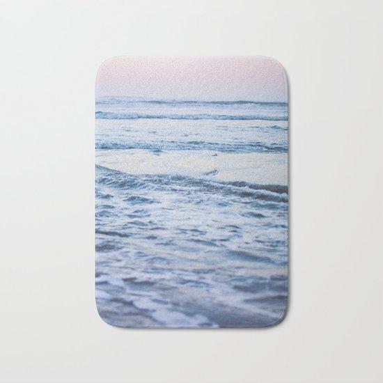 Pacific Ocean Waves Bath Mat