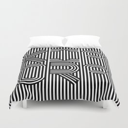 KiaOra New Zealand Greeting (Square) Duvet Cover