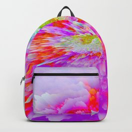 psychedelic rainbow gradient 0790 Backpack