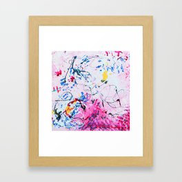 CELEBRATE LOVE MOTHER Framed Art Print