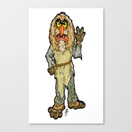 The Muppets' Sweetums!  In honor of John Henson and Jim Henson Canvas Print