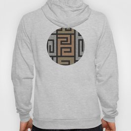 African Tribal Pattern No. 135 Hoody