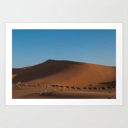 Desert Trek 2  Art Print