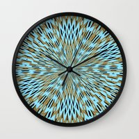 infinity Wall Clocks featuring Infinity by Stay Inspired