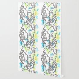Scandi Micron Art Design | 170714 Abstract Watercolour Play 3 Wallpaper
