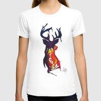 reindeer T-shirts featuring reindeer by Armyhu