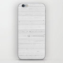 WHITEWASHED PINE iPhone Skin