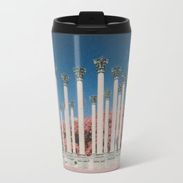 Capital Columns in infrared Travel Mug