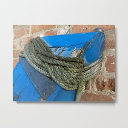 Turks head knot Metal Print