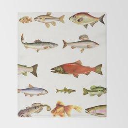 Fishing Line Throw Blanket