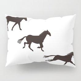 a horse runs Pillow Sham