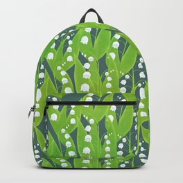 Lily of the Valley Pattern Backpack