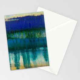 sea and sky meltdown Stationery Cards