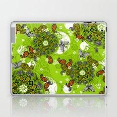 butterfly carousel Laptop & iPad Skin
